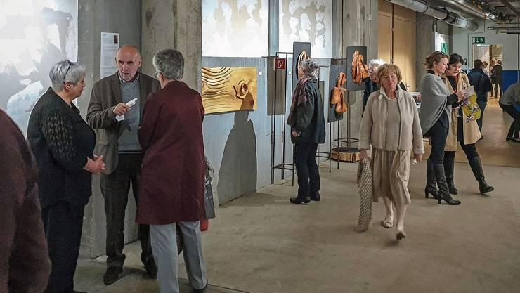 An der «Untitled 2019» hatte es zahlreiche Besucher.