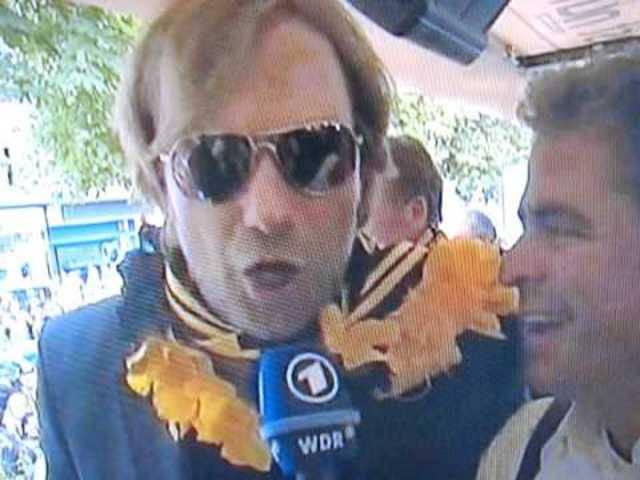 Wo Jürgen drauf steht ist auch Jürgen drin (ein bisschen Drews).