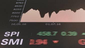 An den Aktienmärkten geht es derzeit turbulent zu und her.