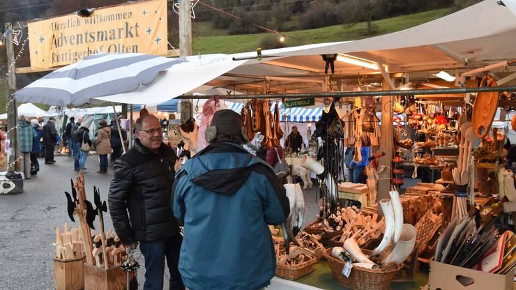 Weihnachtsmarkt auf dem Ruttigerhof vor zwei Jahren.