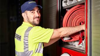 Feuerwehrmann, Kassier, Fussballer, Nationalratskandidat: Pascal Rudolf ist ein Allrounder.