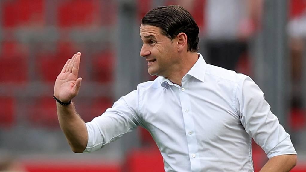Für Gerardo Seoane läuft es bislang in Leverkusen.