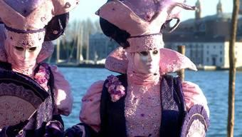"""Venedig feiert den diesjährigen Karneval unter dem Motto """"Die Stadt der Frauen"""" (Archiv)"""