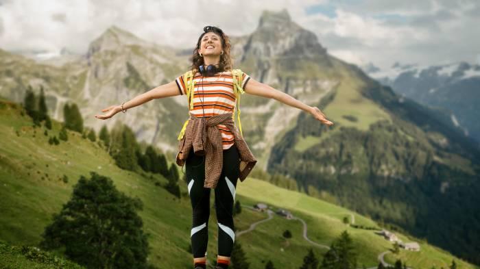 Wandern hilft gegen Stress