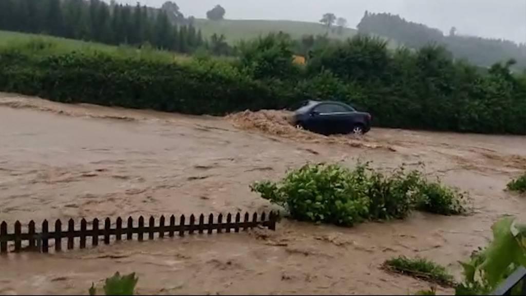 Sondersendung: Land unter im Aargau