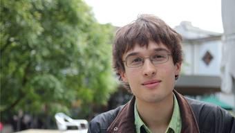 Jonas Bürgin leitet mit 18 Jahren schon sein eigenes Orchester.