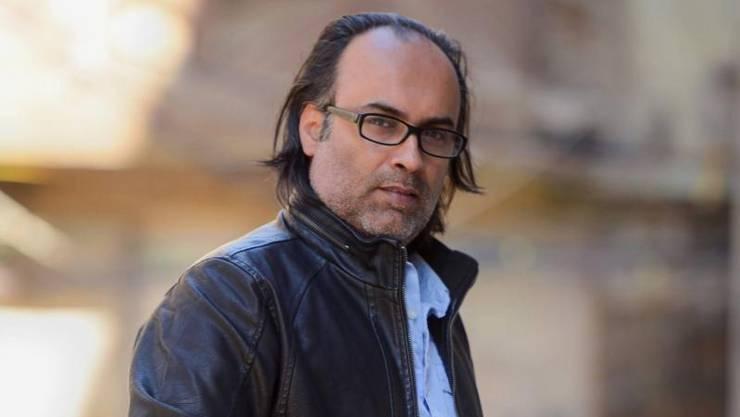 Der irakische Schriftsteller Ahmed Saadawi.