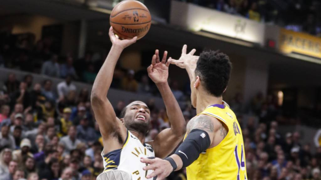 Siegesserie der Los Angeles Lakers gerissen