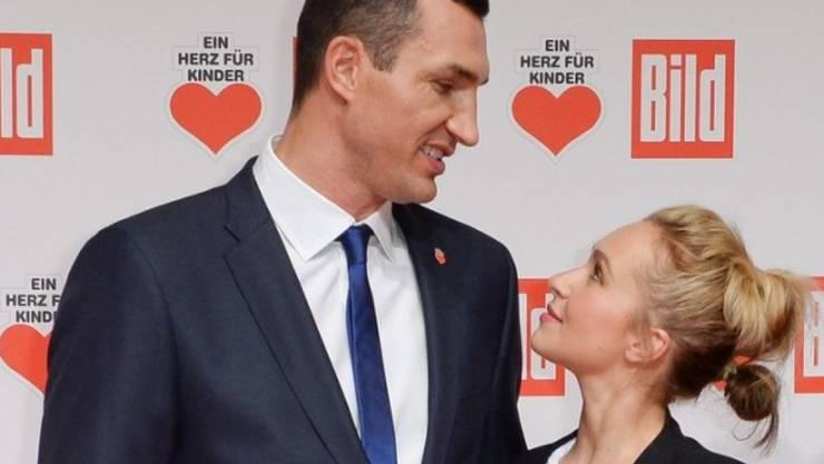 Die Schauspielerin Hayden Panettiere schaut gerne zum Boxer Wladimir Klitschko auf (Archiv)