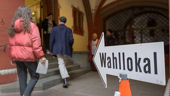 Die letzte Gelegenheit, sich an den Wahlen zu beteiligen. Die Schweiz wählt heute ein neues Parlament. (Archivbild)