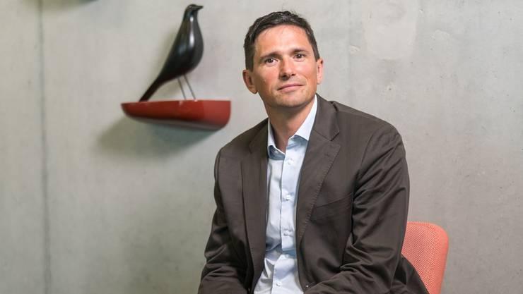 Thomas Mattig, Direktor der Gesundheitsförderung Schweiz, kann gar nicht anders, als einigermassen gesund zu leben.