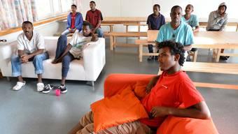 Asylsuchende in der Fridau.