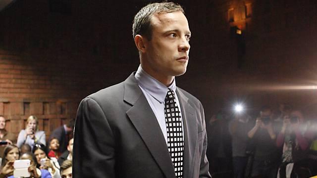Oscar Pistorius bei einer Anhörung im letzten Juni