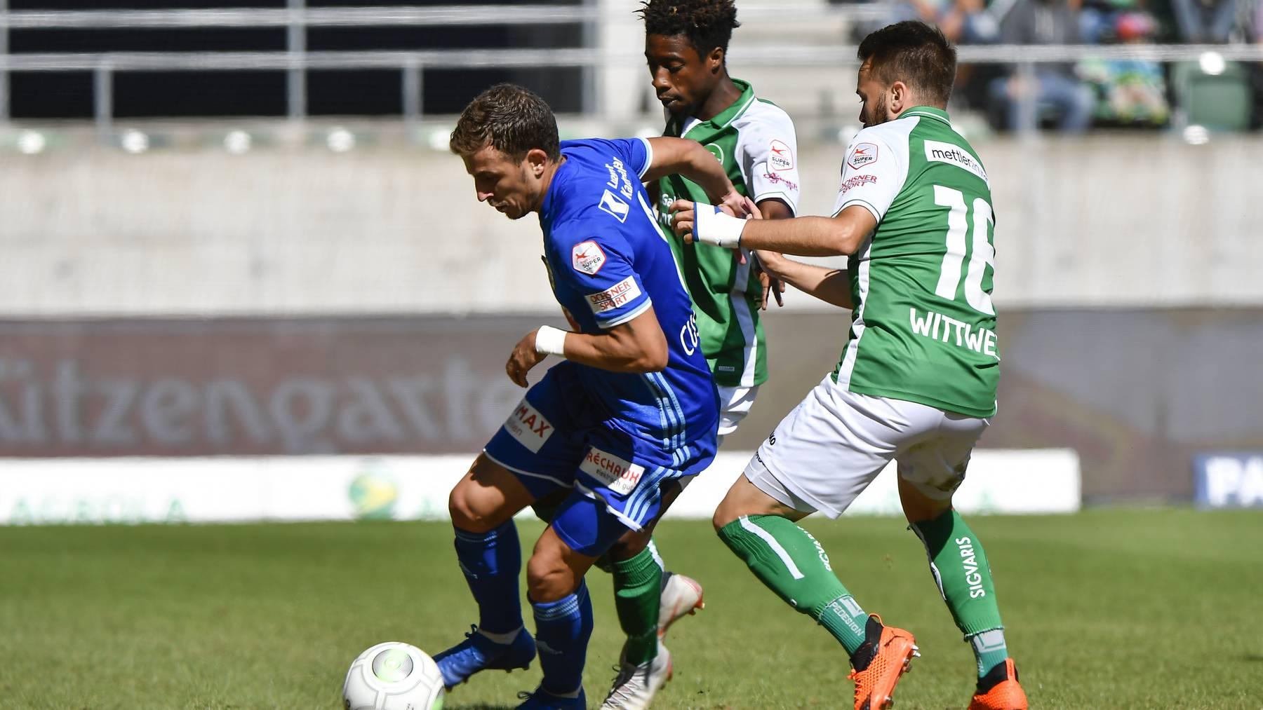 FCL gewinnt gegen St. Gallen mit 1:0