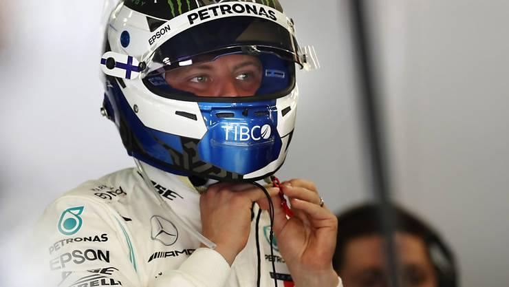 WM-Leader Valtteri Bottas startet am Sonntag beim Grand Prix von Spanien zum dritten Mal in dieser Saison von der Pole-Position ins Rennen