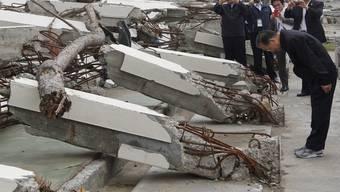 Wen Jiabao gedenkt den Opfern der Tsunami-Katastrophe
