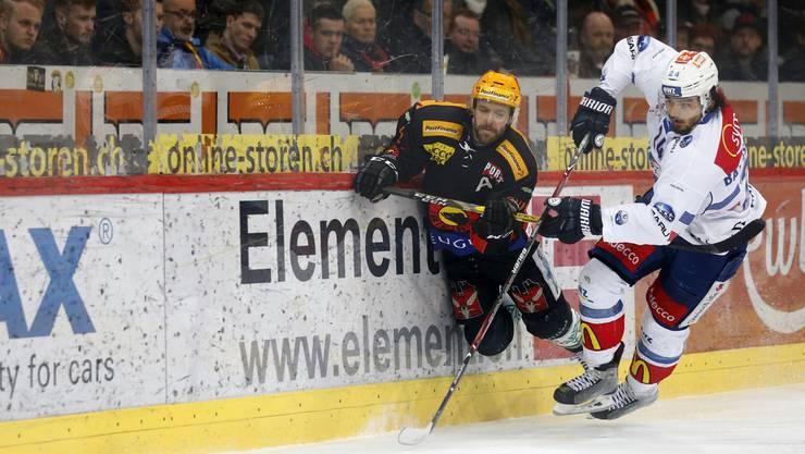 Bern gewinnt 4:3 gegen die ZSC Lions.