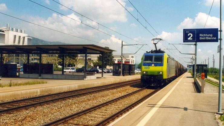 Nur 500 Meter vom Bahnhof entfernt wurde der Mann vom Schnellzug getötet.
