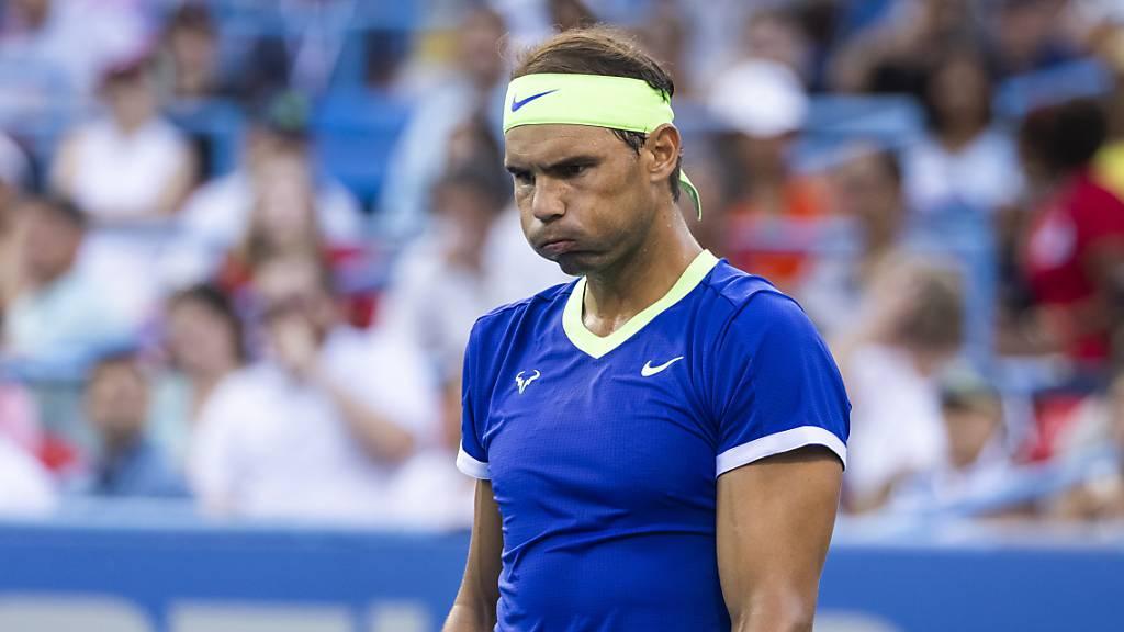 Rafael Nadal musste sich von Stefanos Tsitsipas im ATP-Ranking überholen lassen