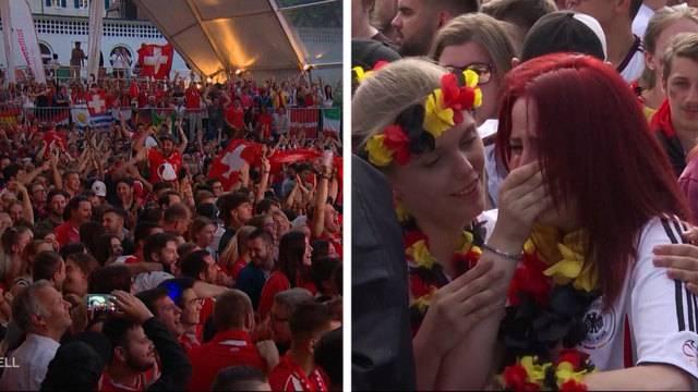 Schweiz im Siegestaumel, Deutschland im Jammertal