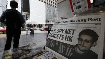 Das Titelblatt der heutigen Ausgabe mit dem Interview mit NSA-Whistleblower Edward Snowden.