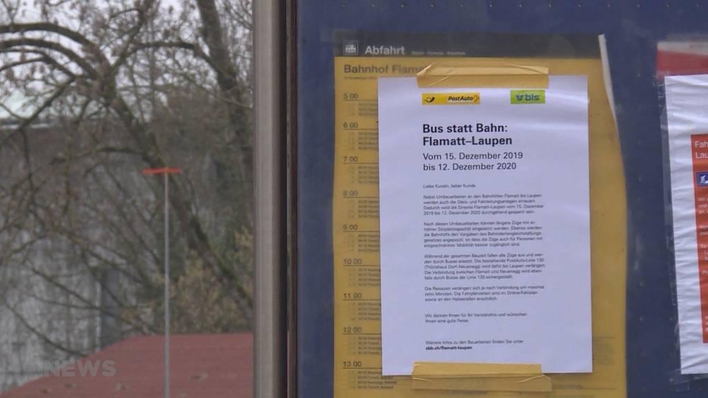 SBB in Kritik: Baustart trotz hängigen Einsprachen