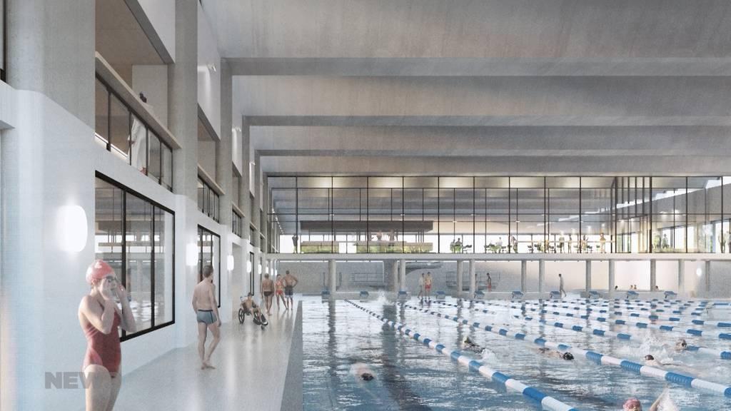 Gemeinderat verabschiedet Vorlagen zu neuer 50-Meter-Schwimmhalle
