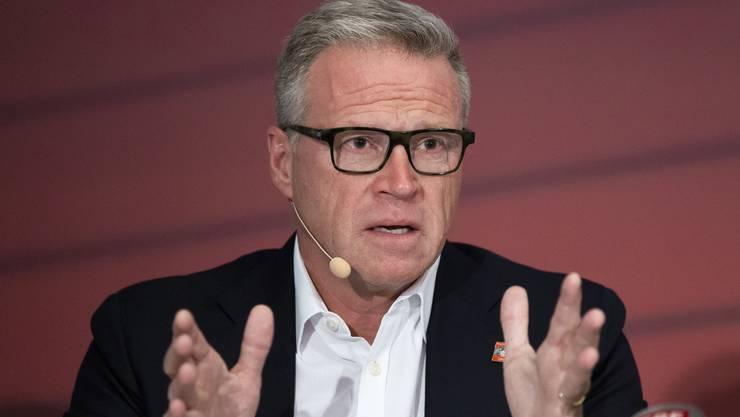 Unter Druck: SBB-Chef Andreas Meyer zeigte sich überrascht über die Anzahl Mängel, die bei einer Sonderkontrolle ans Licht kamen.