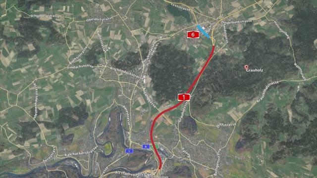 A1 von Bern wird achtspurig