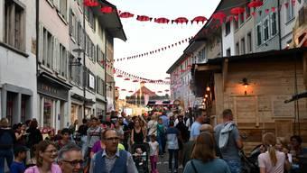 Bildergalerie: Das Stadtfest Brugg