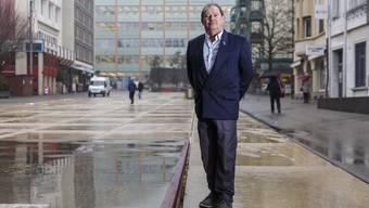 Marc Willemin, Präsident der Grenchner SVP, hat ein Herz für den Parteinachwuchs.