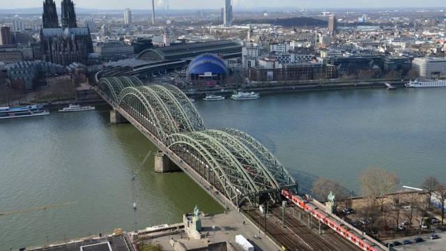 Mädchen stirbt an den Ufern von Köln (Archivbild)