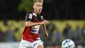 Olivier Jäckle hat vom FC Aarau einen neuen Zweijahresvertrag vorliegen.