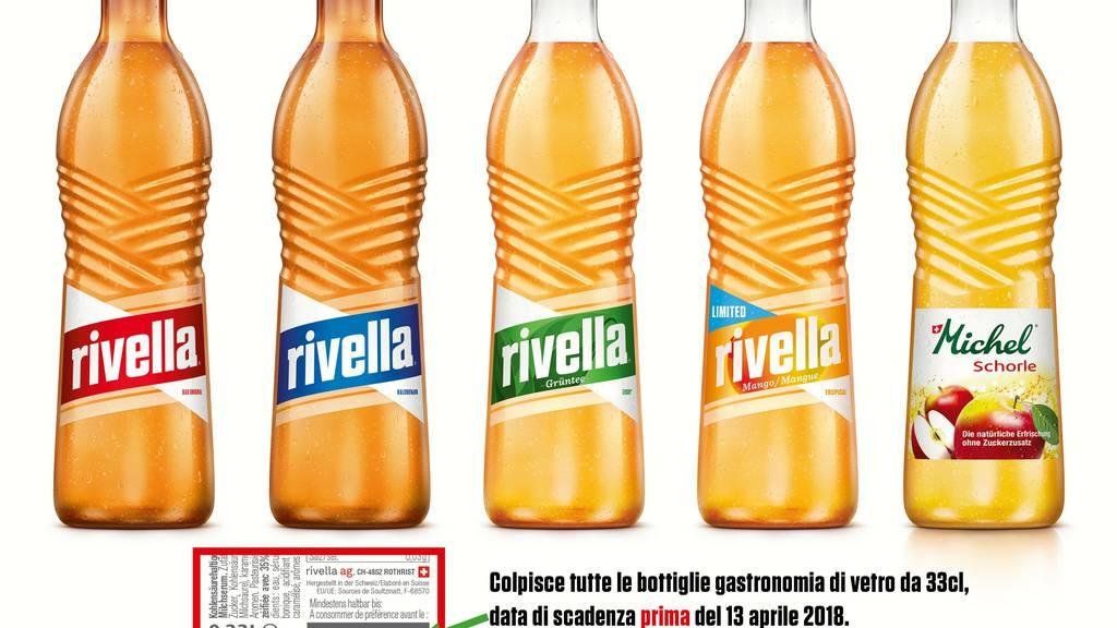 Rivella ruft Gastronomie-Glasflaschen zurück