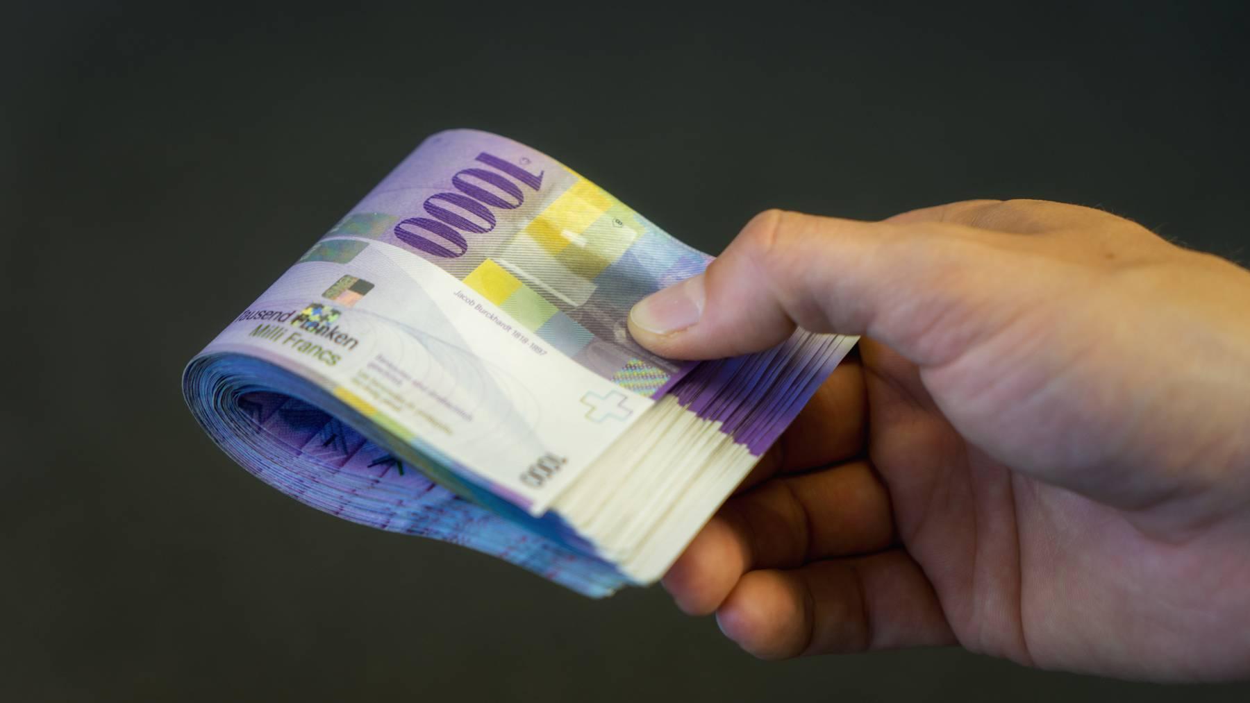 Iran-Krise lässt Franken steigen