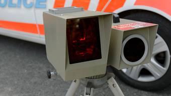 Radarfallen sind in der Schweiz das ganze Jahr über im Einsatz - hier in Genf. Deshalb macht die Schweiz an einer koordinierten Blitzer-Aktion in 26 europäischen Ländern nicht mit.
