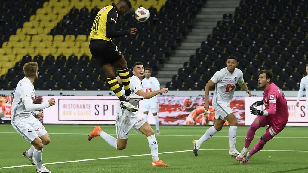 YB mit Wende gegen Luzern an die Tabellenspitze