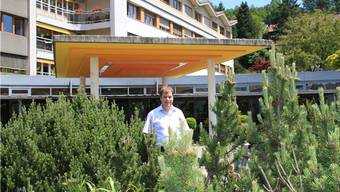 Thomas Zeller, Zentrumsleiter Regionales Alterszentrum Schöftland, freut sich, wenn sich die Bewohner im Altersheim wohl fühlen.