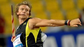 Der Norweger Andreas Thorkildsen wurde für einmal bezwungen