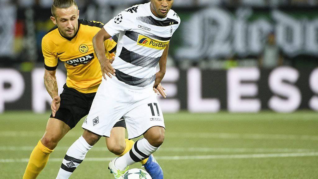 Raffael traf gegen die Young Boys zum 1:0