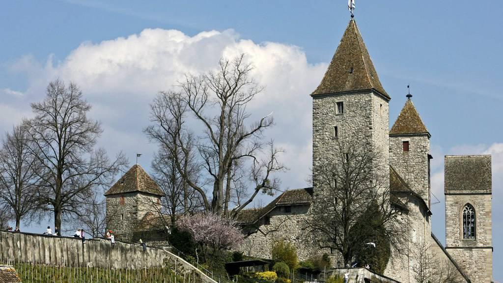 Das Schloss Rapperswil vertritt an der Olma «St.Galler Wein». (Archivbild)