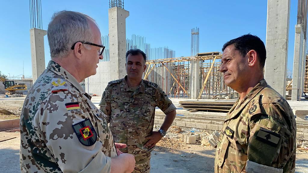 Generalinspekteur für Lieferung neuer Patrouillenboote an Libanon