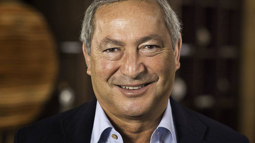 Orascom-Chef Samih Sawiris kann sich über mehr Umsatz und Gewinn seines Bau- und Hotelkonzerns im ersten Halbjahr freuen. (Archivbild)