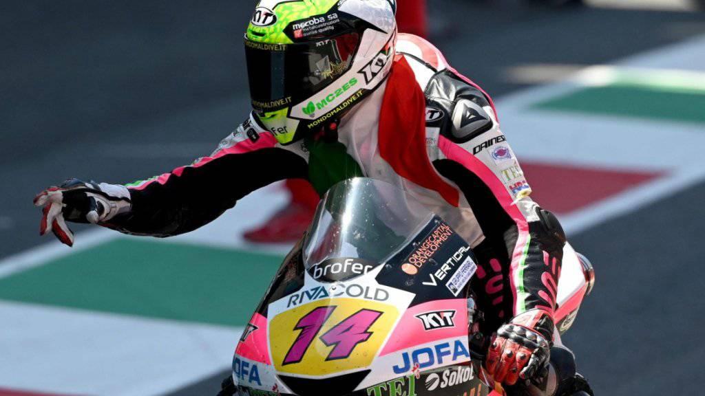 In der Moto3-Klasse gewann mit Tony Arbolino ebenfalls ein Italiener