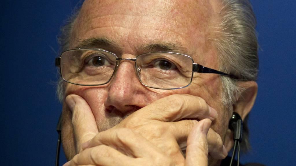 Sepp Blatter - als er noch Fifa-Präsident war (Aufnahme vom März 2012).
