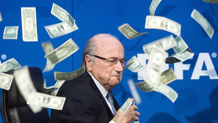 Wird nun auch von seinem Walliser Kantonskollegen Christian Constantin attackiert: der suspendierte FIFA-Präsident Sepp Blatter