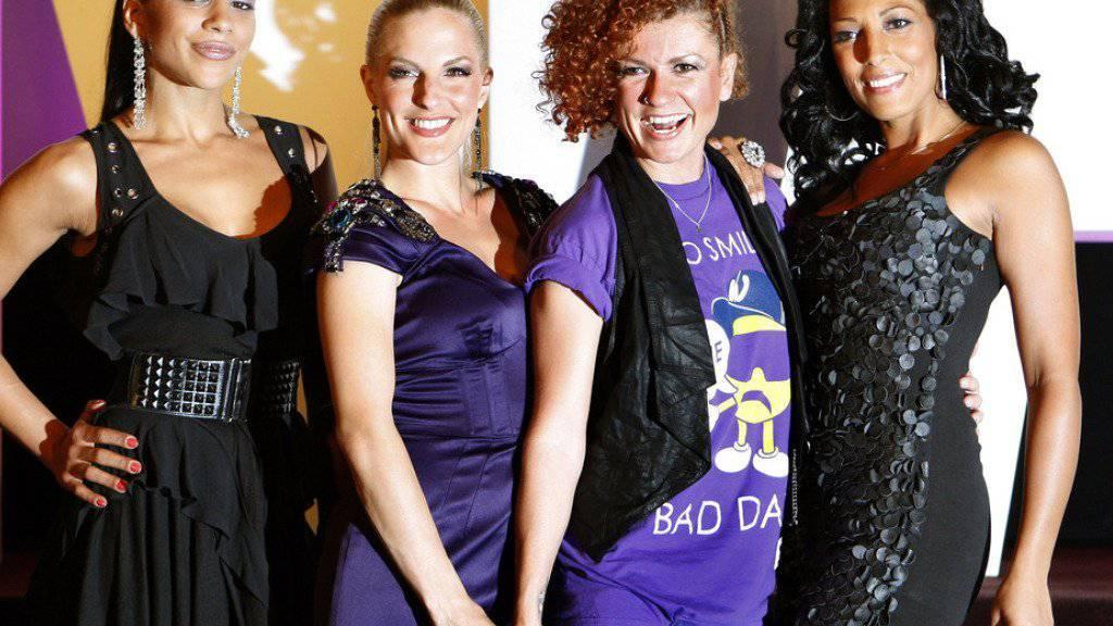 Die Schauspielerin Sandy Mölling (2. von links) war einst Mitglied der Pop-Band No Angels (Archiv)