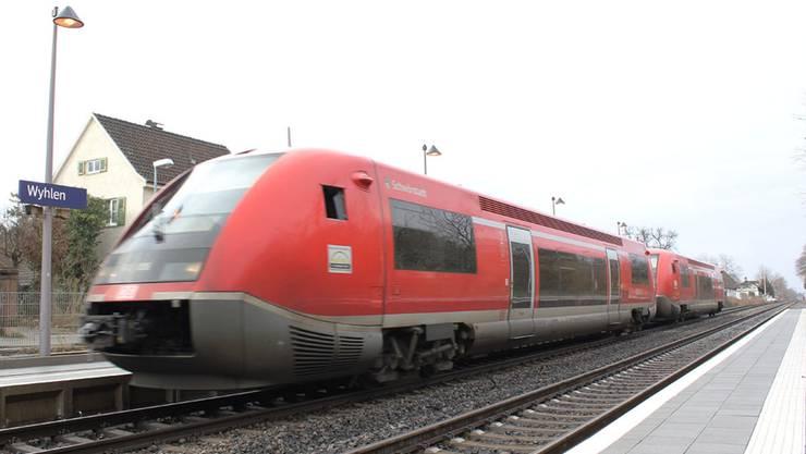 Laut und luftverschmutzend: Noch fahren auf der Hochrheinstrecke Dieselzüge, doch diese haben keine Zukunft mehr.
