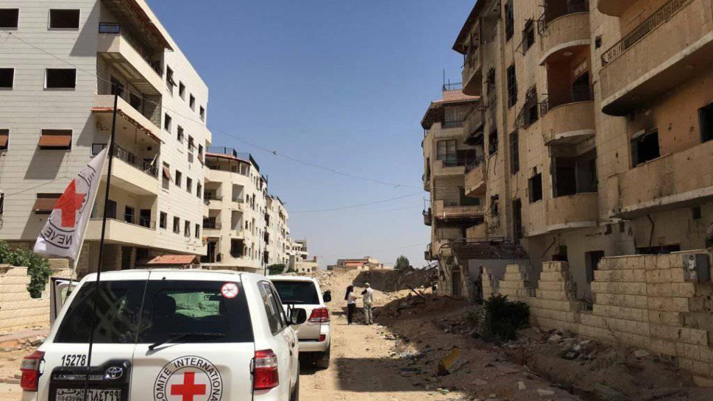 UNO ringen mit Syrien um Zugang zu belagerten Städten