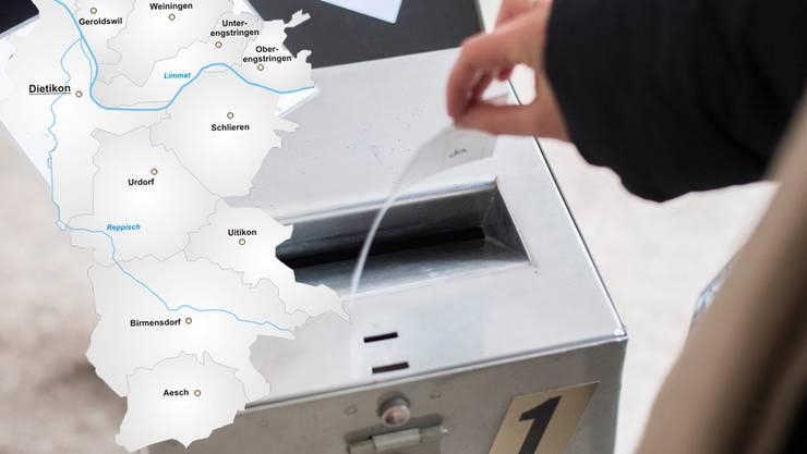 Acht Limmattaler Gemeinden haben am Sonntag ihre Gemeinderäte gewählt.